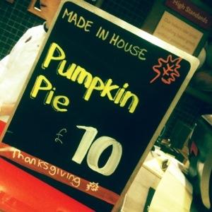 Club drinks vs pumpkin pie