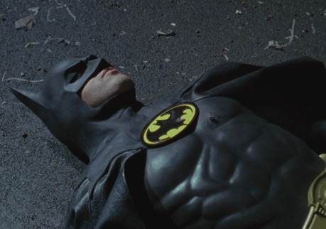 Even Batman needs a lie down from time to time.