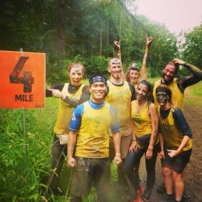 4 miles, quite cheerful